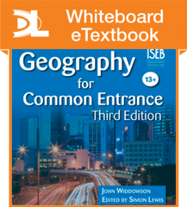 Geography for Common Entrance Third Edition Whiteboard [L]..[1 year subscription]